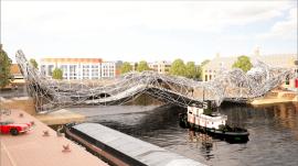 Progetto di ponte antropomorfo per Amsterdam – 4