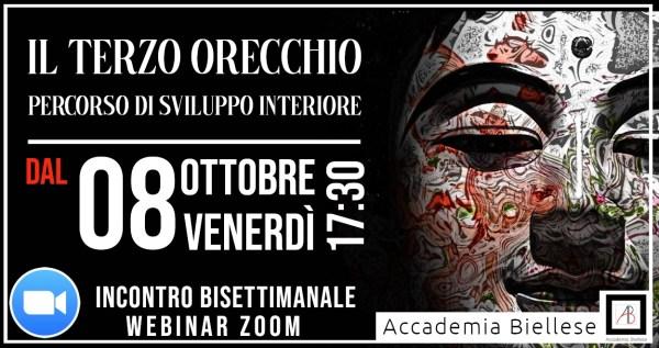 webinar -zoom -webinar zoom-terzo orecchio - domenico basanisi -basanisi -white rabbit event -accademia biellese -edo tempia -biella -corso -corsi -spirituale -evoluzione