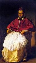 Ritratto di Papa Paolo V 1605-1606, olio su tela 203 × 119 cm, Galleria Borghese - Roma.