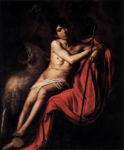 San Giovanni Battista 1610 circa, olio su tela 159 × 124 cm, Galleria Borghese - Roma.
