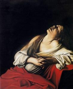 Maria Maddalena in estasi 1606, olio su tela 106,5 × 91 cm, collezione privata.