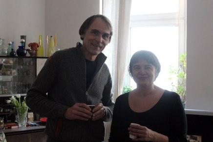 Peter Kopp e Sara Picchi