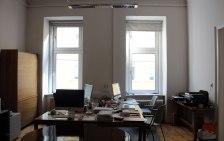 Gli uffici dell'atelier