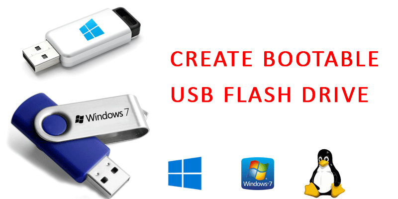 boot usb pen drive windows 7