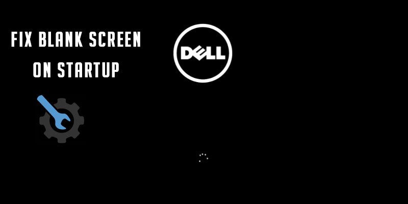 How to fix blank screen on laptop