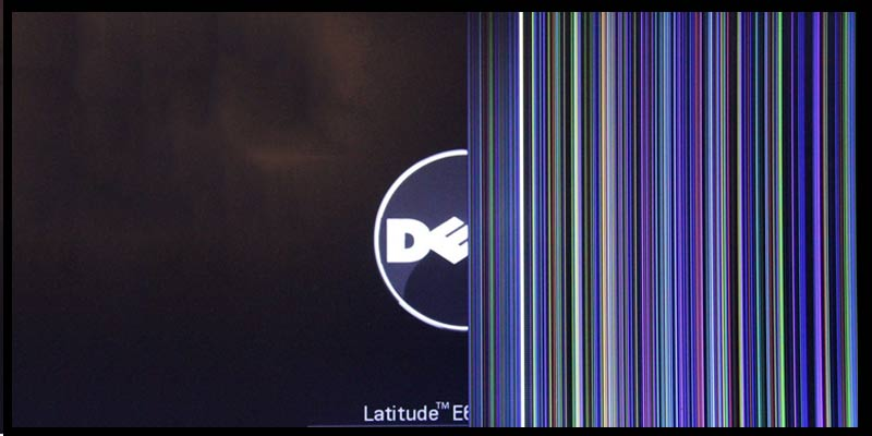 Flickering latitude laptop screen