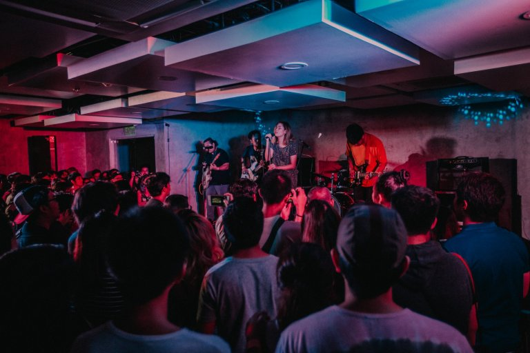 Fête de la Musique 2018 Post-rock / Math Rock Stage by A Spur of the Moment Project. Photo by Lunar.