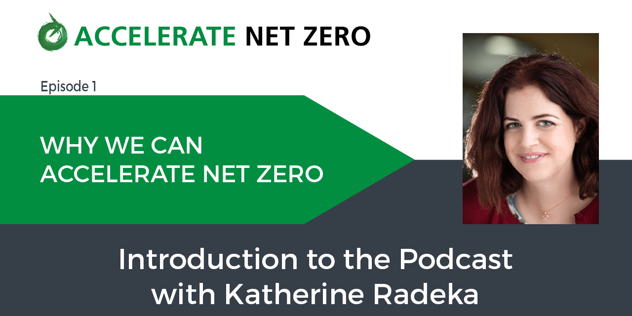 Why We Can Accelerate Net Zero