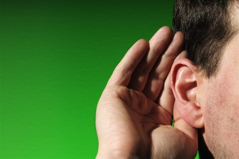 Image result for hand cupped to ear