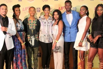 Mo Abudu & the cast of LIFE 101 (3)