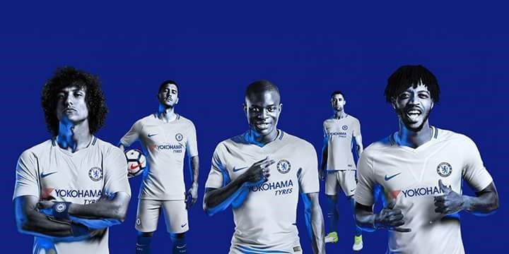 innovative design d0607 16be2 CHECK OUT CHELSEA FC'S NEW KITS FOR THE 2017/2018 SEASON ...