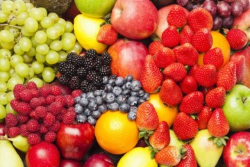 A bunch of fruits for weight loss