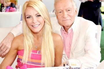 Hugh Hefner and ex-wife