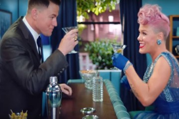 Pink and Channing Tatum