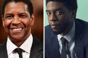 denzel washington and chadwick boseman