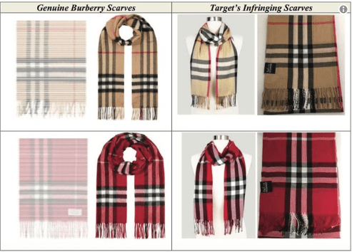 burberry and target