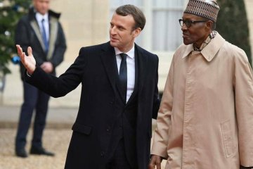 buhari and macron