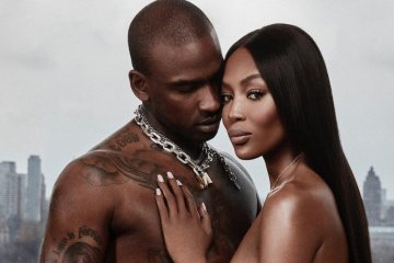 skepta and naomi campbell