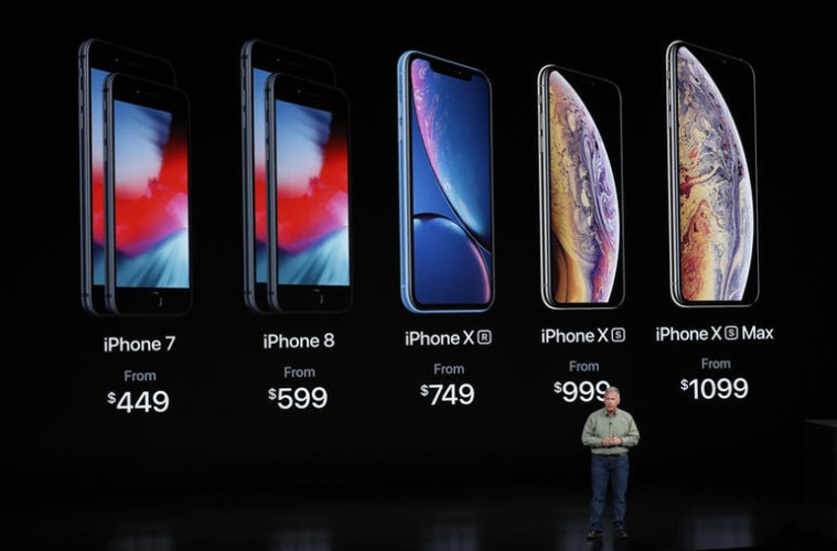 iphone xs and max