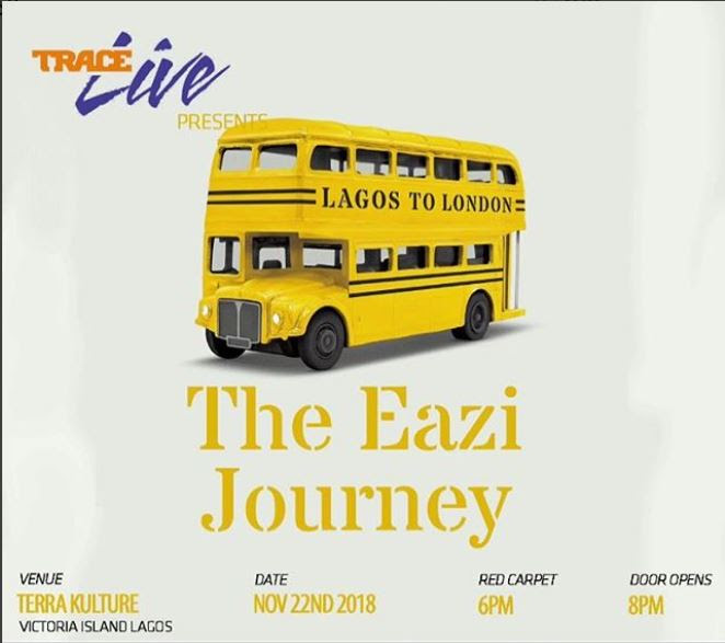mr eazi lagos to london