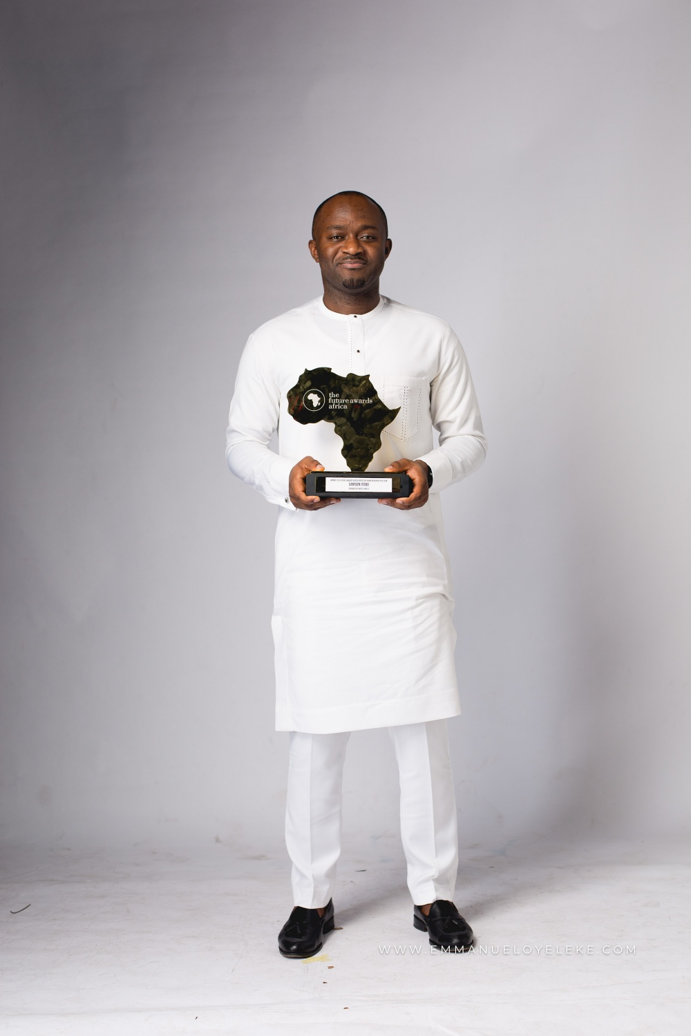 Winner Prize for #TFAA2018 Young Person of the Year, Samson Itodo