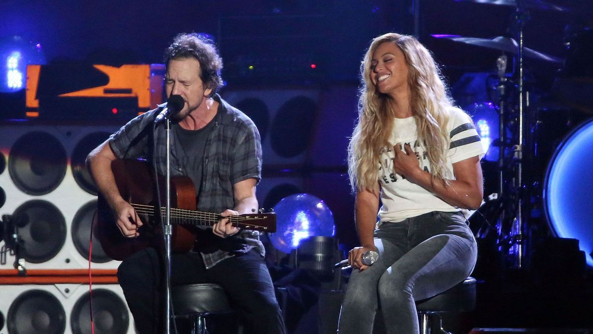 beyonce and eddie vedder
