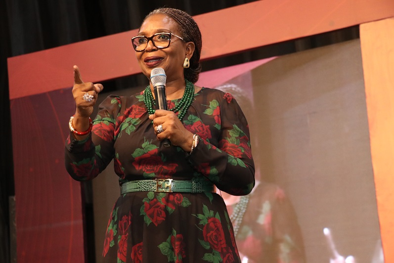 Keynote Speaker_ Ibukun Awosika, Chairman, First Bank of Nigeria speaking at TEXA19 (1)