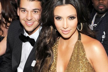 kim krdashian and rob kardashian