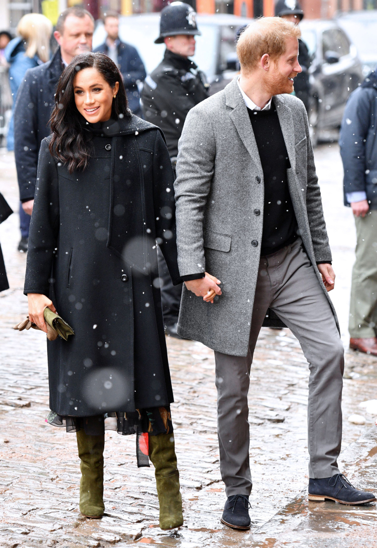 Prince Harry and Meghan Duchess of Sussex visit to Bristol, UK - 01 Feb 2019