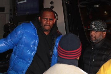 r kelly arrested