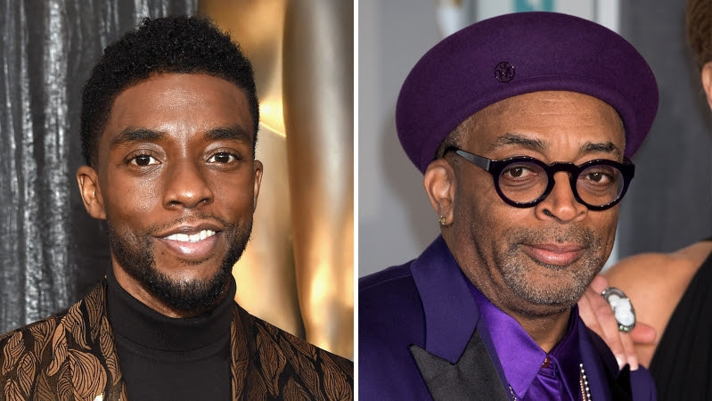 chadwick boseman and spike lee