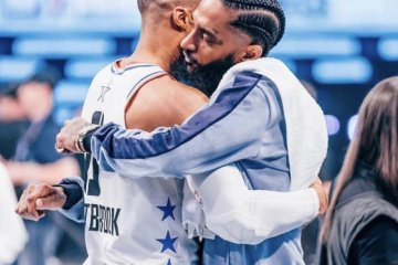 russle westbrook and nipsey hussle