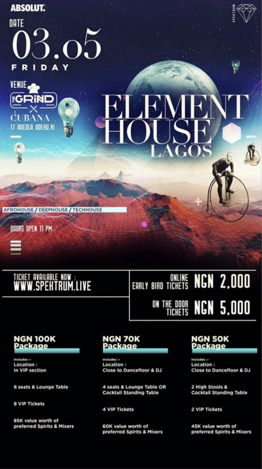 Element house Lagos