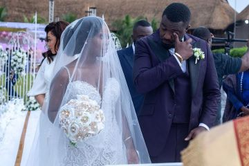 john dumelo's wedding