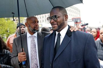 r kelly in court, photo by getty