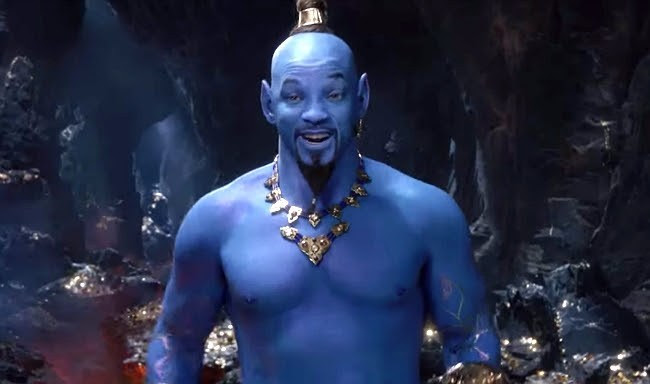 will smith aladdin the genie