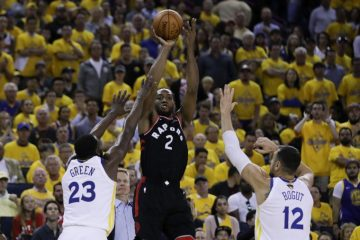 warriors v raptors