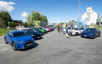 Alexela üritus elektriautod