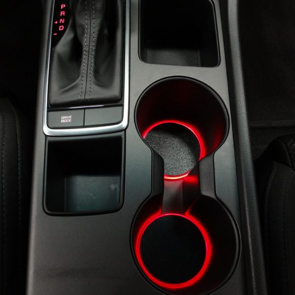 Custom LED Cup Holder Lights