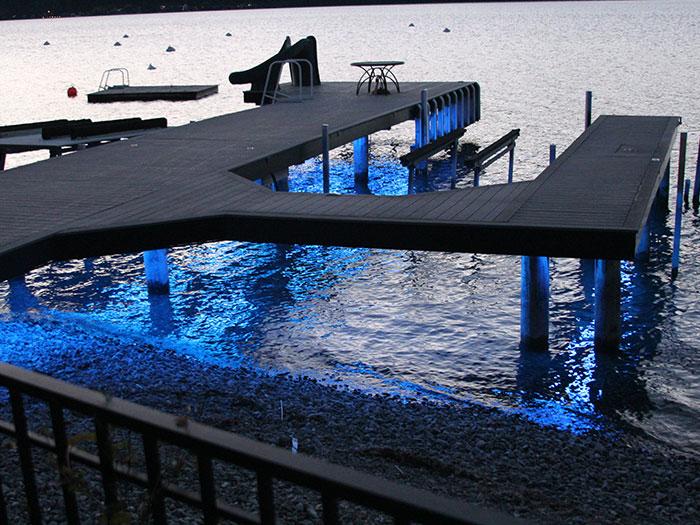 dock lighting accent led lighting