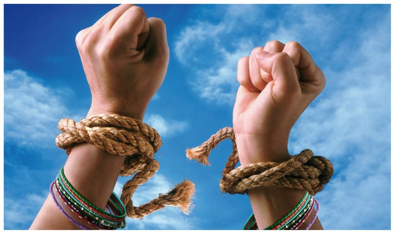 romper lazos liberar