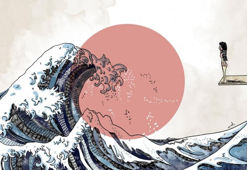 métafora olas controlar emociones negativas antes te controlen