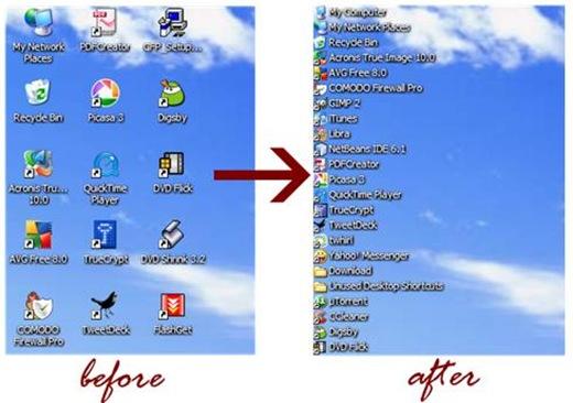 desktop list