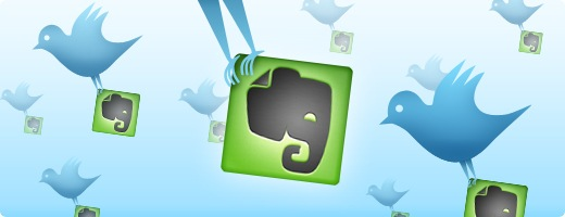 evernote twitter