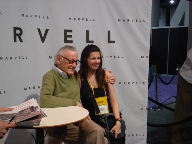 Con Stan Lee