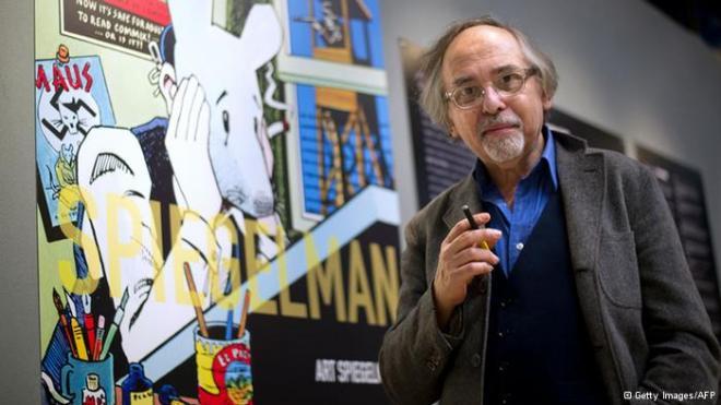 """Art Spiegelman, o """"El señor de los ratones""""."""