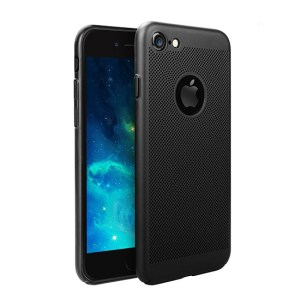 husa perforata slim neagra iphone 8