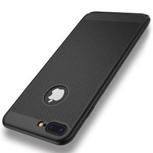 Husa neagra perforata Apple iPhone 8