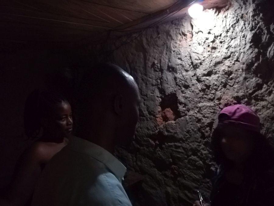 PEG Solar household 'the black overcome'