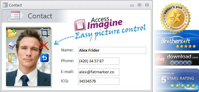 AccessImagine (Microsoft Access image control) on form